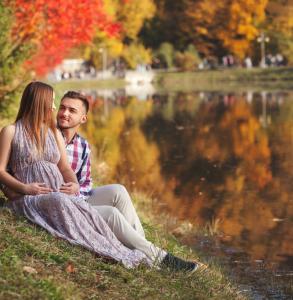 Дмитрий и Екатерина в ожидании малышки Мишель